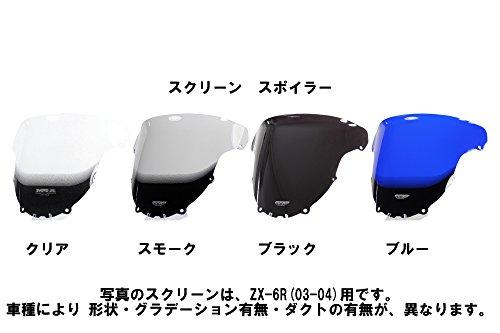 MRA(エムアールエー) スクリーン スポイラー スモーク GPZ1000RX MS601S