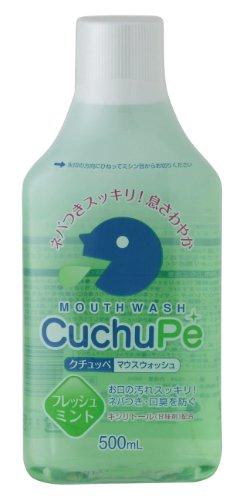 クチュッペ マウスウォッシュ フレッシュミント ボトル500ml