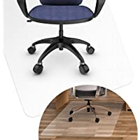BESONTチェアマット デスクマット 透明フロアマット 床を保護 900 * 1200 * 1.5mm フローリング/畳/床暖房対応 カート可能 傷つけない 汚れ防止