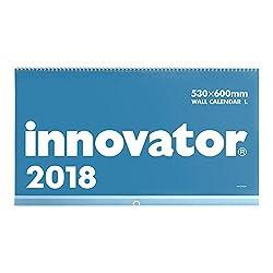 イノベーター 2018年 カレンダー 壁掛け L 30109006