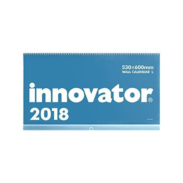 イノベーター 2018年 カレンダー 壁掛け L...の商品画像