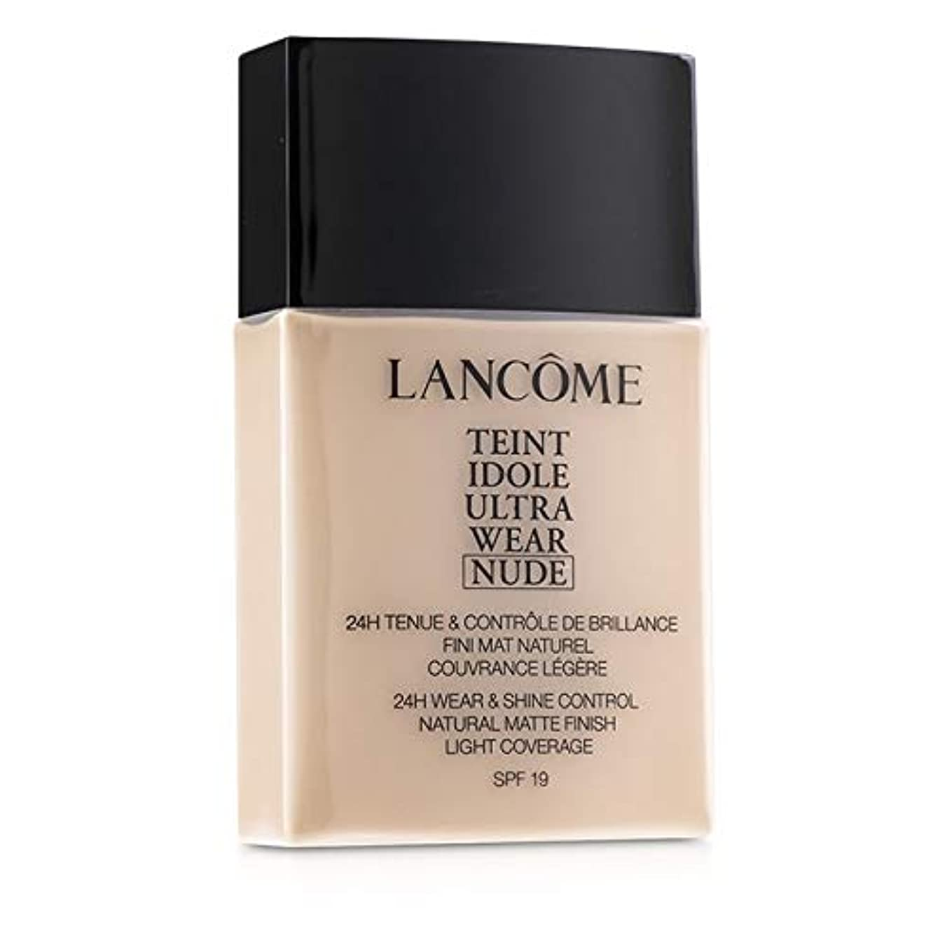 独裁者スライス上へランコム Teint Idole Ultra Wear Nude Foundation SPF19 - # 02 Lys Rose 40ml/1.3oz並行輸入品
