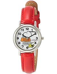 [シチズン Q&Q] キッズ腕時計 PEANUTS(ピーナッツ) スヌーピー P003-324 ガールズ レッド