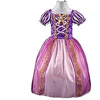 OEM Kids Girls Princess Costume Fairytale Dress Up Rapunzel 3-10 Years