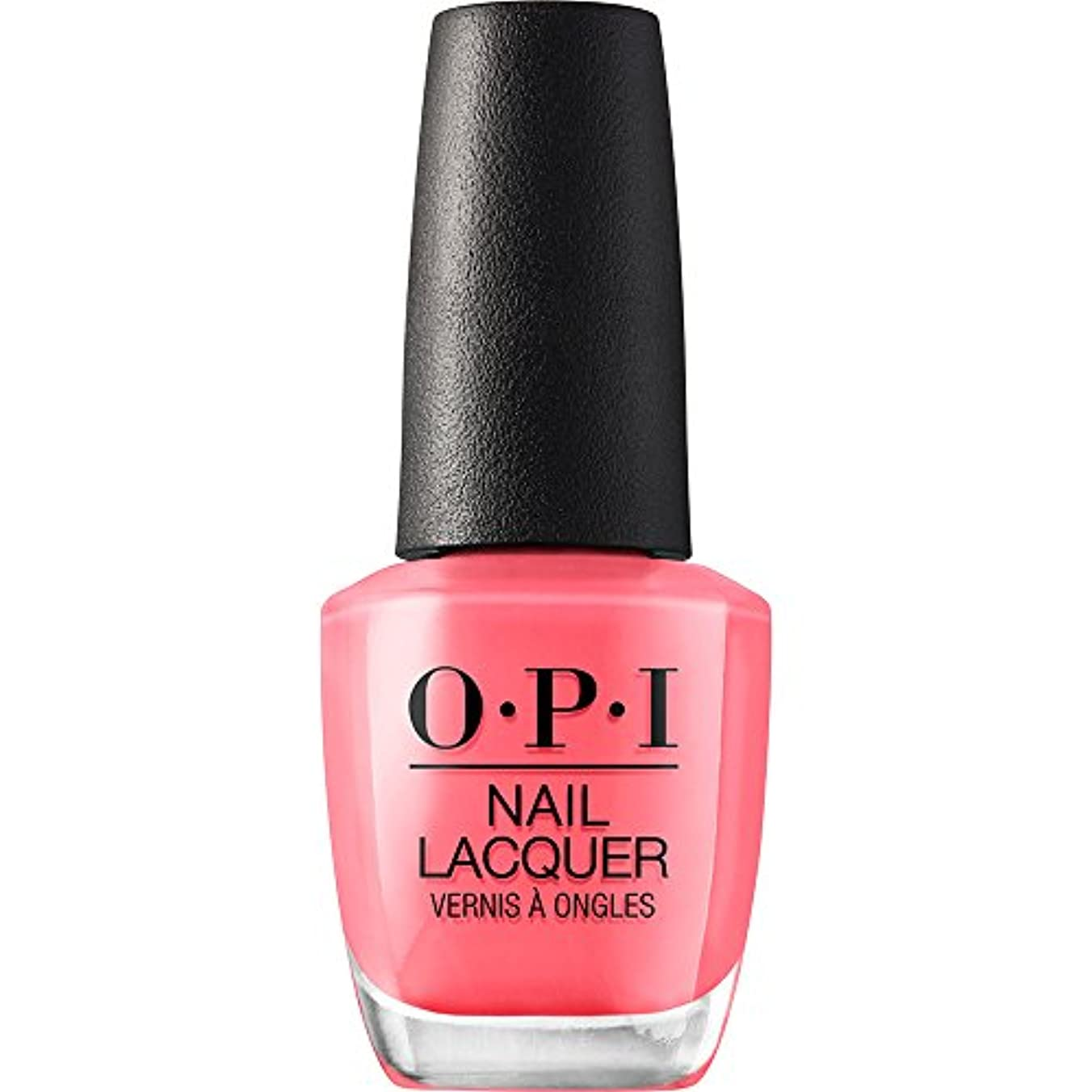 風味間に合わせ観察するOPI Elephantastic Pink Nail Lacquer Classics Collection 15ml