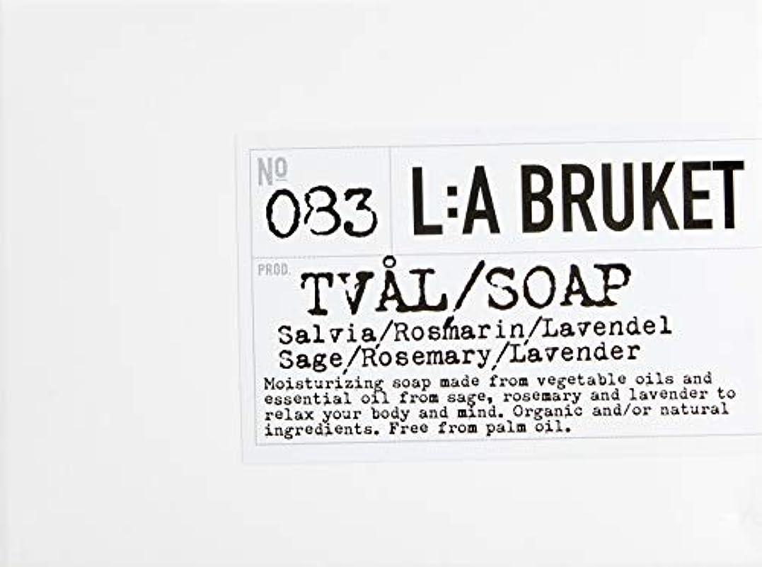 引数マークされた赤ちゃんL:a Bruket (ラ ブルケット) バーソープ (セージ?ローズマリー?ラベンダー) 120g