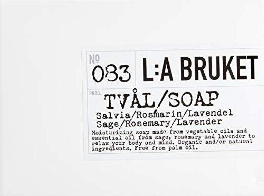 ケントお酢きらめくL:a Bruket (ラ ブルケット) バーソープ (セージ?ローズマリー?ラベンダー) 120g