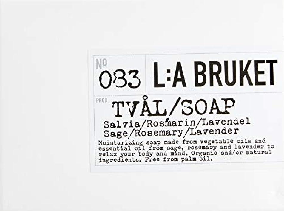 近似映画ただL:a Bruket (ラ ブルケット) バーソープ (セージ?ローズマリー?ラベンダー) 120g