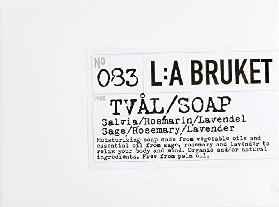剪断ワイヤープライムL:a Bruket (ラ ブルケット) バーソープ (セージ?ローズマリー?ラベンダー) 120g