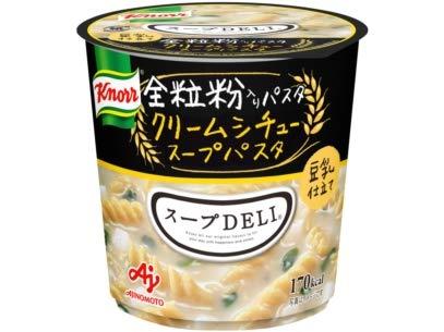 味の素 クノール スープDELI 豆乳仕立て クリームシチュースープパスタ 全粒粉入りパスタ使用 カップ 41.2g×48個入