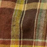 レディース ネルシャツ 5224408 ブラウン L シンプルライフ画像②
