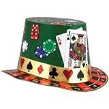 カジノNight hi-hat PRTD (デザイン) Party Accessory ( 1 Count )