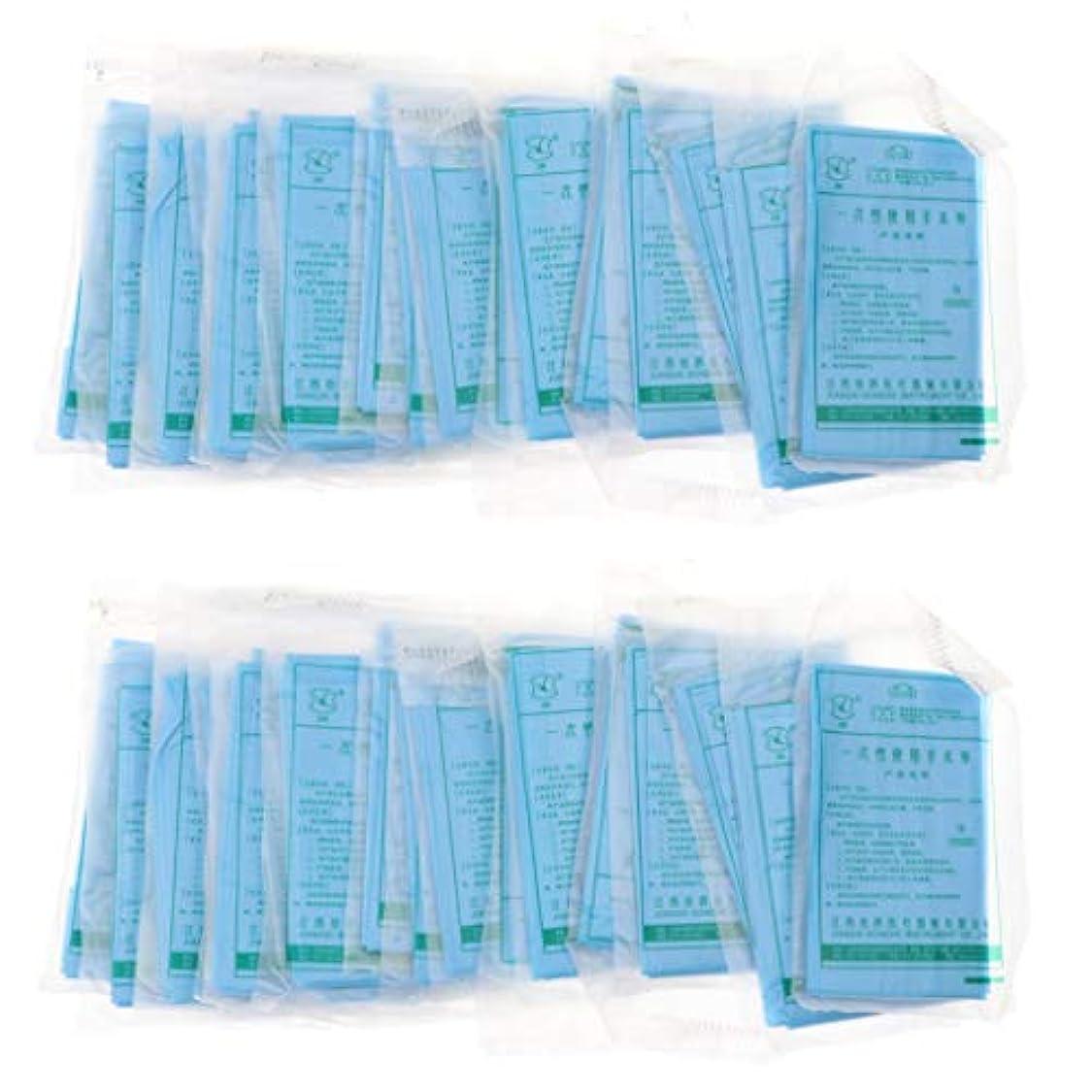 既に取得応じるSM SunniMix ヘッドレスト紙 マッサージ フェイスピロークッションカバー 使い捨て 不織布 約40ピースセット