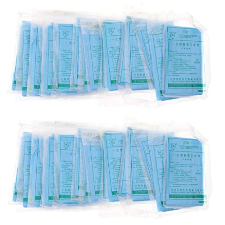 華氏マウントバンク学ぶヘッドレスト紙 マッサージ フェイスピロークッションカバー 使い捨て 不織布 約40ピースセット