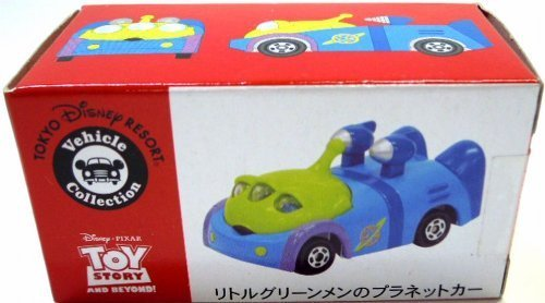 RoomClip商品情報 - 【東京ディズニーリゾート リトルグリーンメン のプラネットカー トミカ】 TDR Disney Vehicle Collection Little Green Man's Planet Car Tomica
