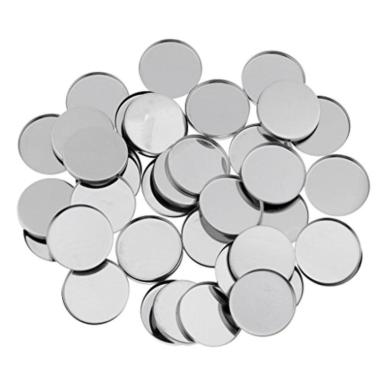 感度段階ばかげているT TOOYFUL 磁気アイシャドウパレットのための50個のラウンド空の金属メーキャップパン36ミリメートル