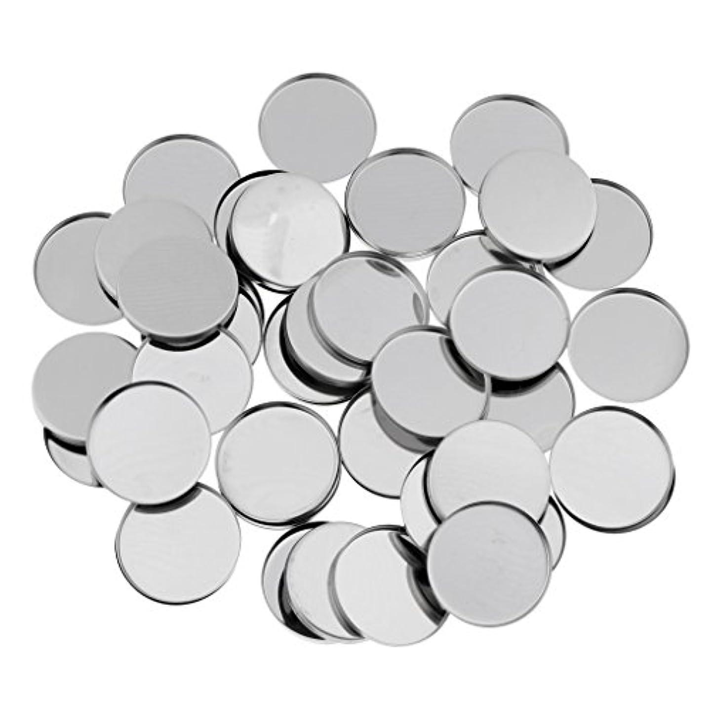 子豚ラックバーターT TOOYFUL 磁気アイシャドウパレットのための50個のラウンド空の金属メーキャップパン36ミリメートル