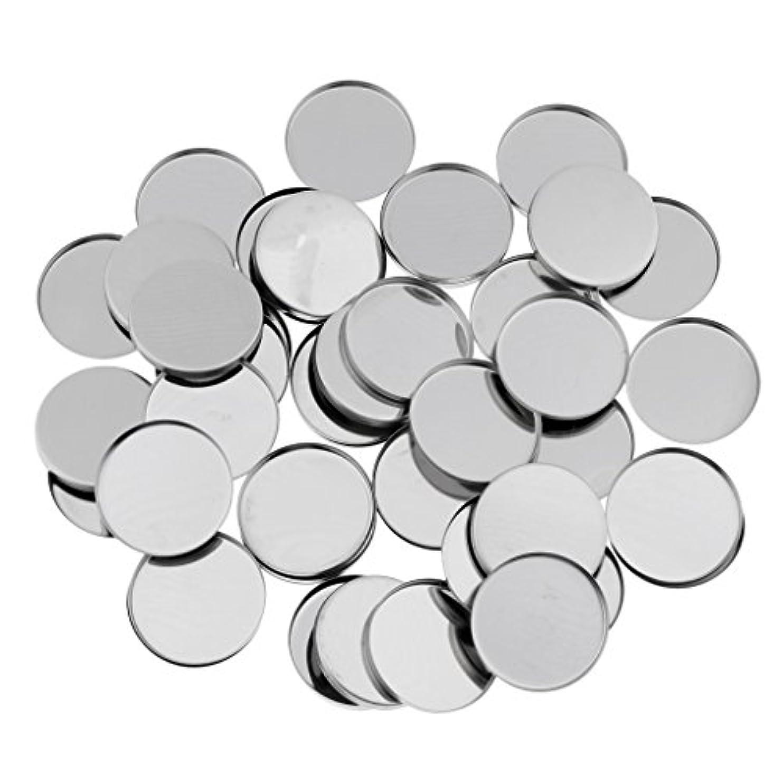 化粧構造的歌T TOOYFUL 磁気アイシャドウパレットのための50個のラウンド空の金属メーキャップパン36ミリメートル