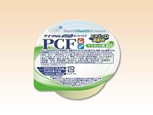 アイソカル・ジェリー PCF(ピーシーエフ) マスカット味 66g(80kcal)×24個/箱 【栄養機能食品】 ネスレ