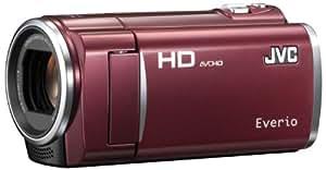 JVCケンウッド JVC 8GBフルハイビジョンメモリームービー ルージュレッド GZ-HM450-R