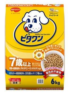 日本ペット ビタワン 7歳以上 6kg