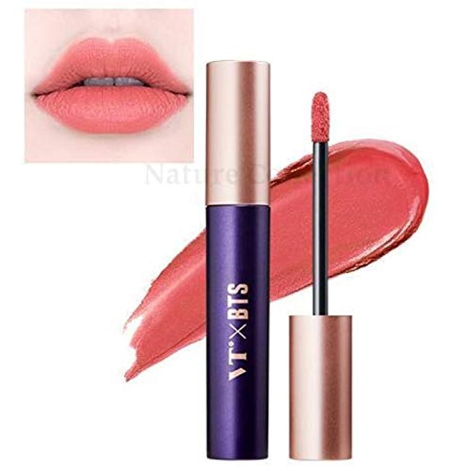 気になる一生不承認VT X BTS Super Tempting Lip Rouge / スーパーテンプティング リップルージュ (4ml) / BTS コラボ (04.Lovesick) [並行輸入品]