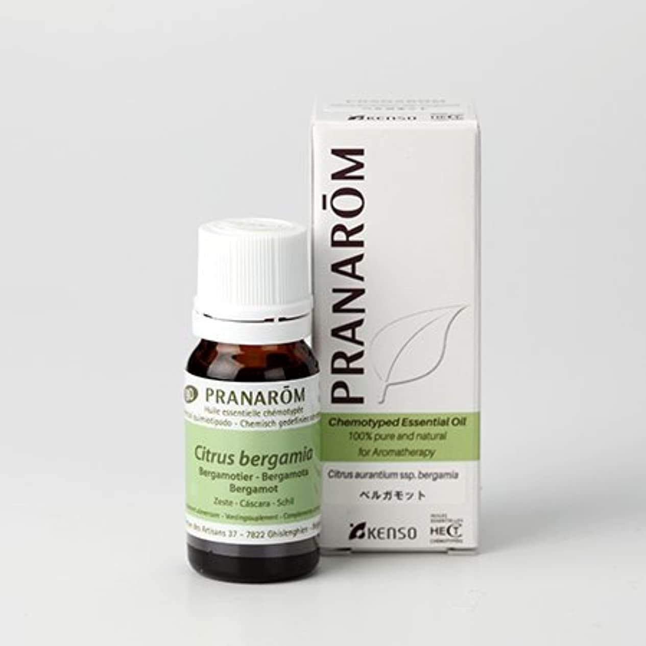 酔う初期物思いにふけるプラナロム ( PRANAROM ) 精油 ベルガモット 10ml p-40