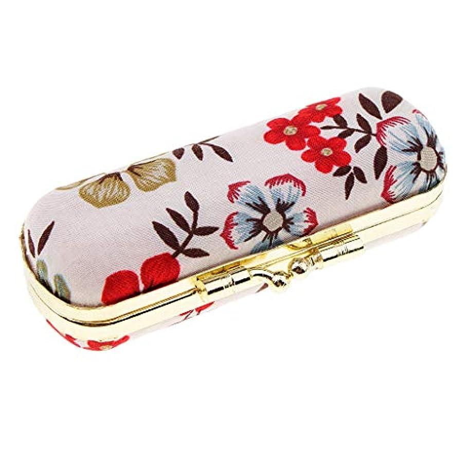 シャッター憲法着飾るT TOOYFUL 口紅 収納用ケース 収納ボックス 鏡付き リップグロスケース リップスティック 全7タイプ - レトロE