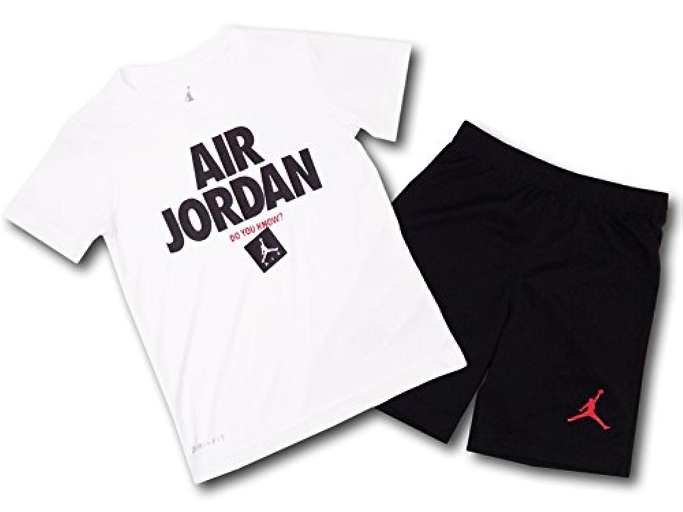 エクスタシー中性解く(Jordan)ジョーダン ベビー Tシャツ & パンツ セットアップ T-shirt and Shorts Set [並行輸入品]