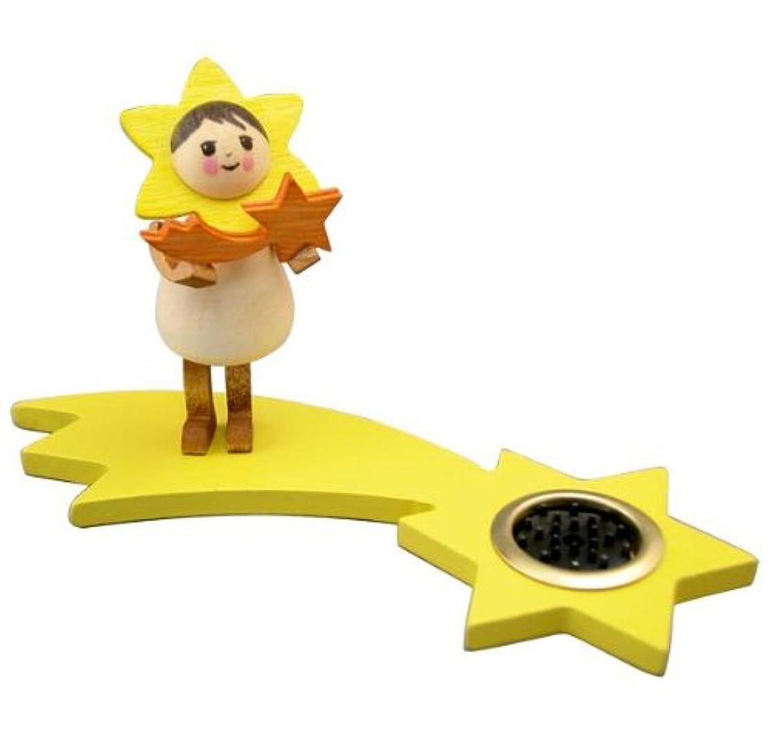 ビルダー驚かす乱用インセンススタンド 星の妖精スターtall