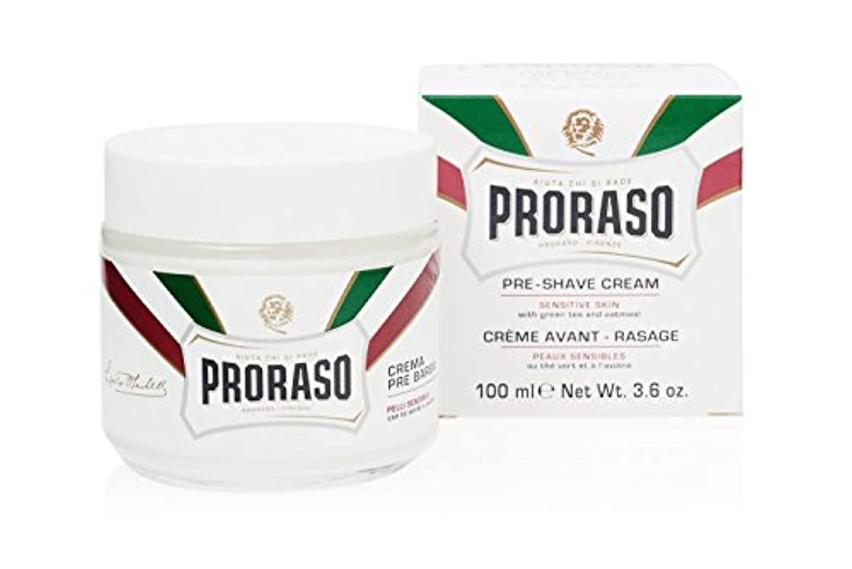 ガイドライン患者反毒PRORASO(ポロラーソ) プレシェーブクリーム センシティブ