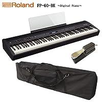 ローランド 電子ピアノ FP-60 ブラック/Roland【本体ケース/ペダル付き】
