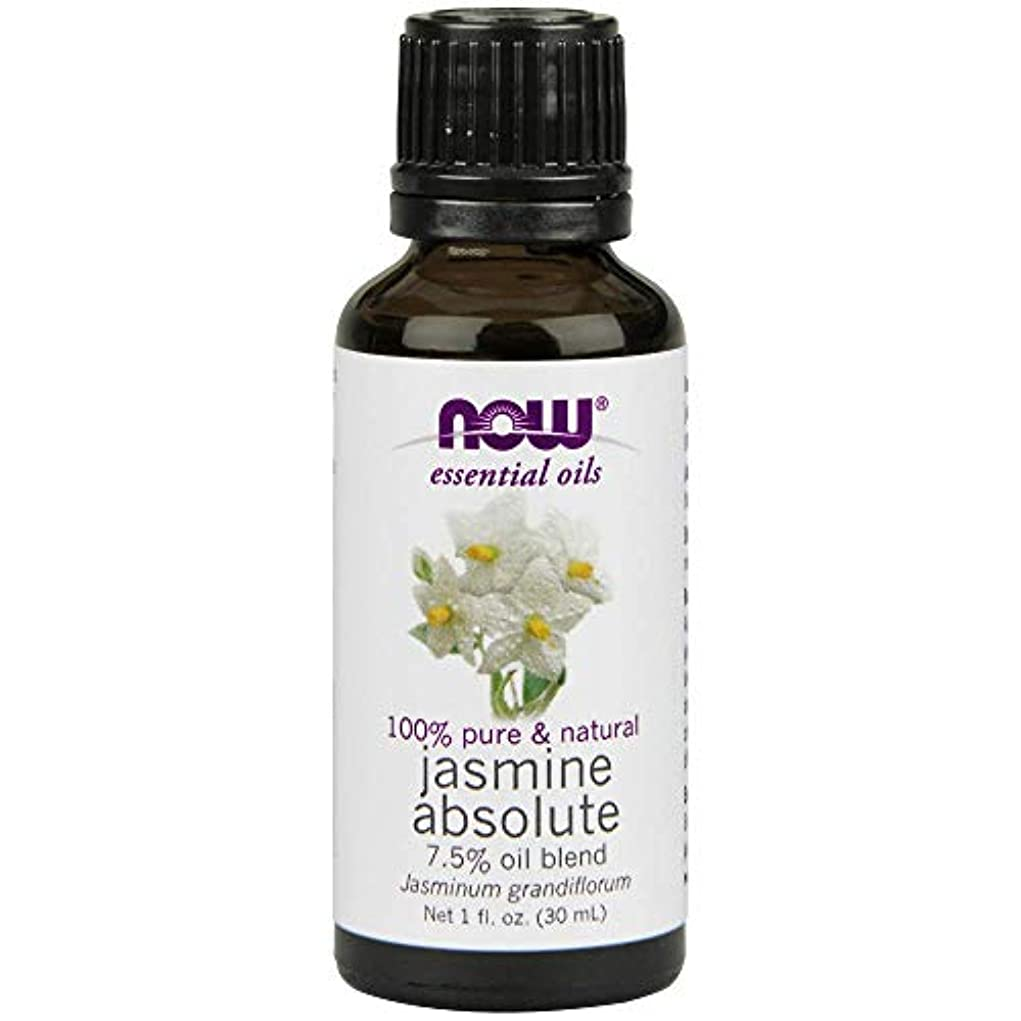 Now - Jasmine Absolute Oil 7.5% Oil Blend 1 oz (30 ml) [並行輸入品]