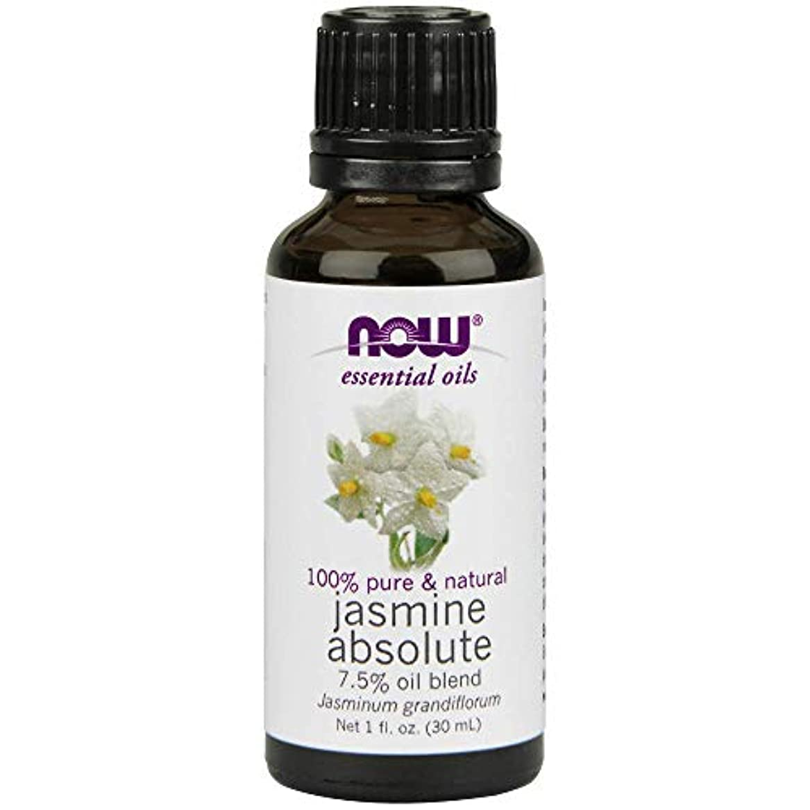 ディスパッチ比べる前置詞Now - Jasmine Absolute Oil 7.5% Oil Blend 1 oz (30 ml) [並行輸入品]