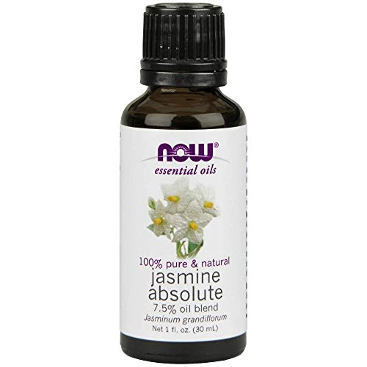 勝つを除く必要性Now - Jasmine Absolute Oil 7.5% Oil Blend 1 oz (30 ml) [並行輸入品]