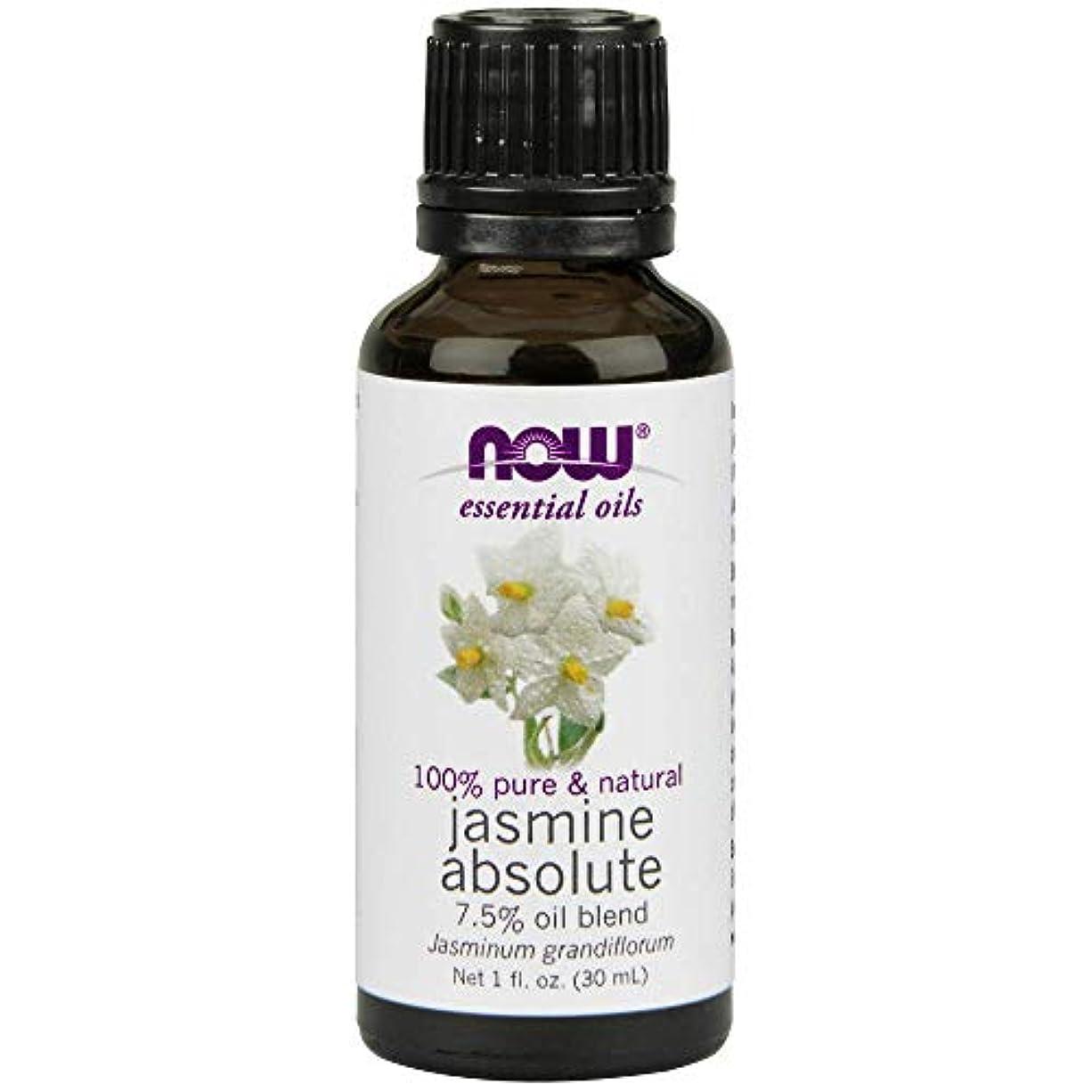 氏リンク冷凍庫Now - Jasmine Absolute Oil 7.5% Oil Blend 1 oz (30 ml) [並行輸入品]