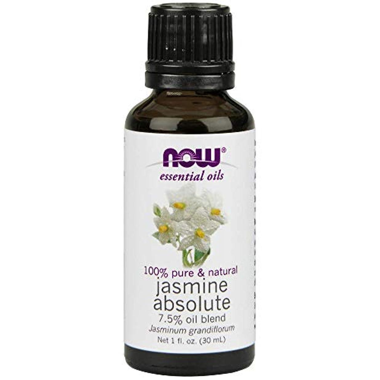 激しいアシスタント力強いNow - Jasmine Absolute Oil 7.5% Oil Blend 1 oz (30 ml) [並行輸入品]