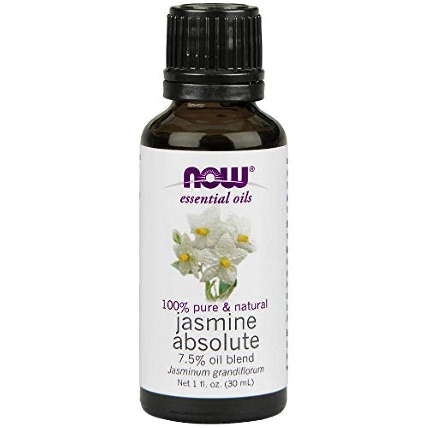 Now - Jasmine Absolute Oil 7.5% Oil Blend 1 oz (30 ml) [並行輸入品]