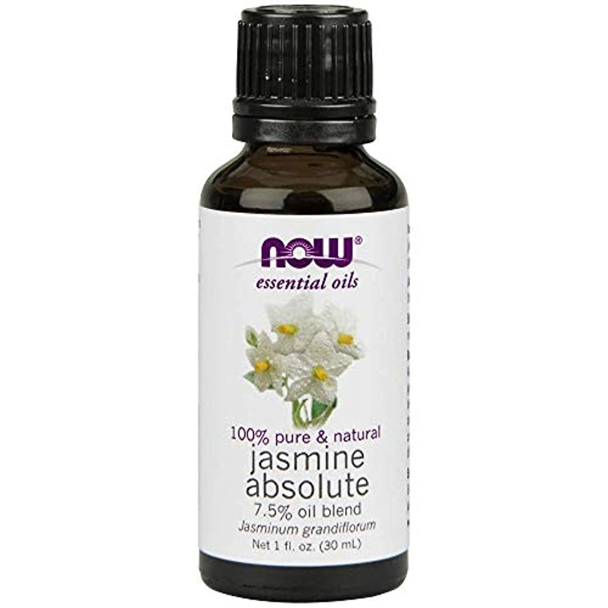 ゴミ箱を空にする元気なテーブルを設定するNow - Jasmine Absolute Oil 7.5% Oil Blend 1 oz (30 ml) [並行輸入品]