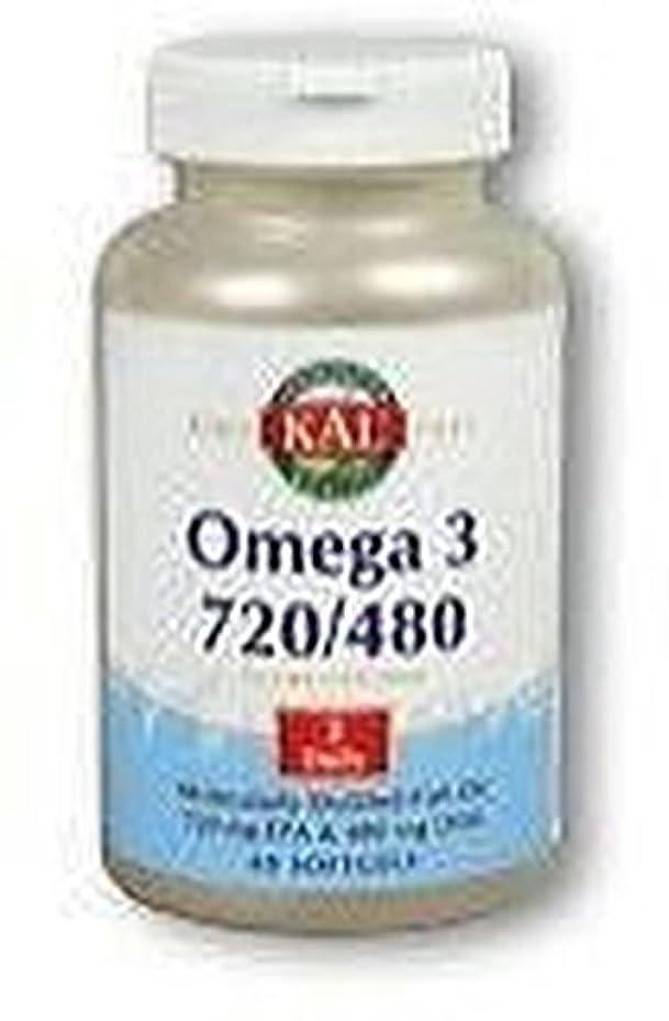 石油弱点アジア人オメガ3 720/480 60粒 ソフトジェル KAL(カル)[海外直送品]