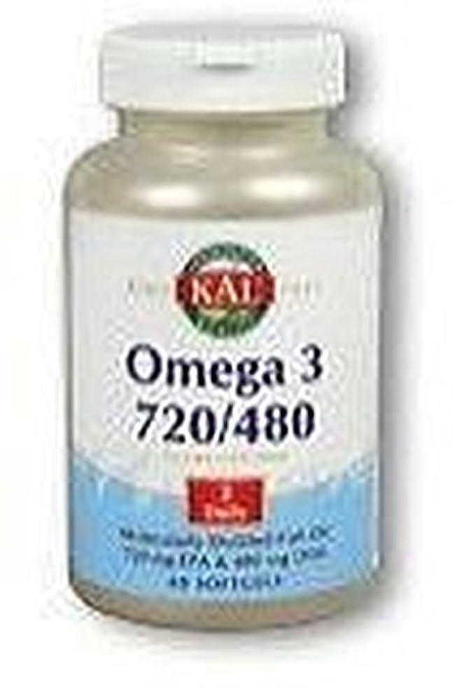 オメガ3 720/480 60粒 ソフトジェル KAL(カル)[海外直送品]