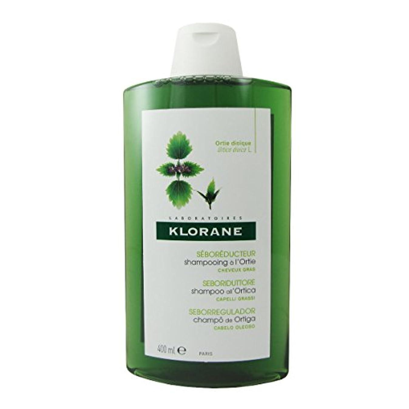 発見オンス菊Klorane Oily Hair White Nettle Shampoo 400ml [並行輸入品]