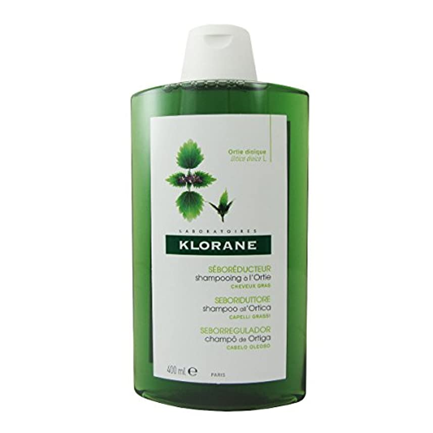 急速な世界手順Klorane Oily Hair White Nettle Shampoo 400ml [並行輸入品]