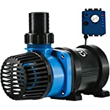 Current USA eFlux DC Flow Pump with Flow Control 3170 GPH | Ultra Quiet, Submerisble or External Installation | Safe for Salt