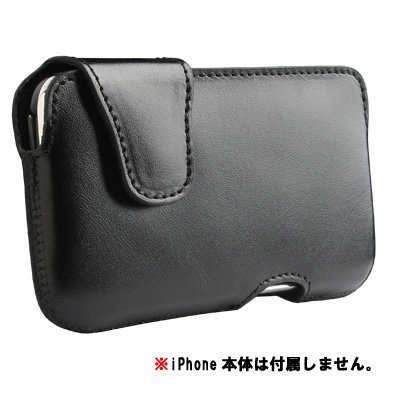 SENA iPhone3G/3GS対応ソフトレザーケース Laterale Case Black SNA-LATERALE-IP3GS-B