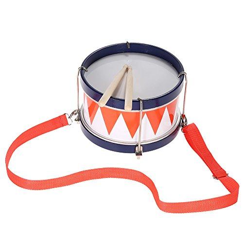 Andoer キッズドラム ドラム 子供 音楽玩具 知育楽器 パーカッション ストラップ/スティック付き