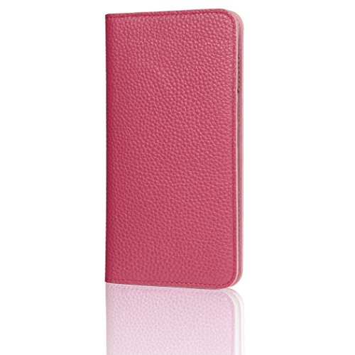 HAKUBA iPhone8 Plus / iPhone7 Plus ケース (5.5インチ) 手帳型 fineseed 熟練の財布職人仕立て 高級牛革製 ローズ PC-LCIP7PRSの詳細を見る
