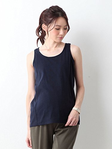 Angeliebe Enjeribe Maternity nursing opening with a tank top cotton blend soft milling maternity clothes maternity 21759