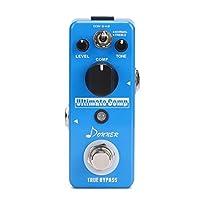 Donner Ulitmate Comp ギター エフェクター コンパクトペダル コンプレッサー 過大な入力信号を圧縮 原音保持