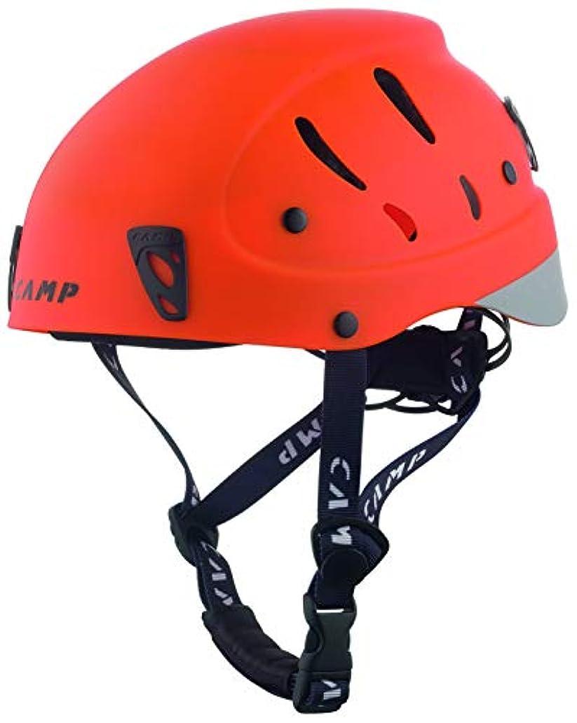 砂ソフィー建築CAMP(カンプ) 登山 クライミング ヘルメット アーマー (Armour) オレンジ S 5259504